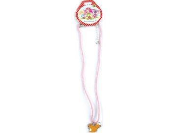 Náhrdelník | Trixibelles | s přívěškem | růžová