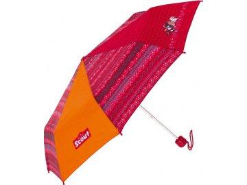 Deštník | skládací | Scout | tři koníci | 90cm