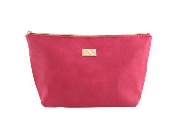 Kosmetická taška | Elite Models | ASST | 30x18x11cm | šedá nebo růžová