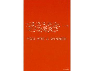 Blahopřání | Born 2B | YOU ARE A WINNER
