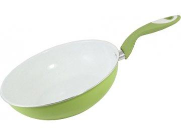 Pánev | Smart Cook | keramická | bílo-zelená