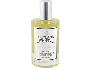 Masážní olej   Heyland & Whittle   Citrusy a levandule   100ml