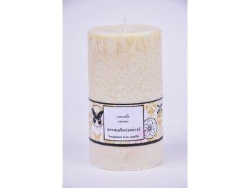 Vonná svíčka z palmového vosku | vanilka | 6,5x12cm