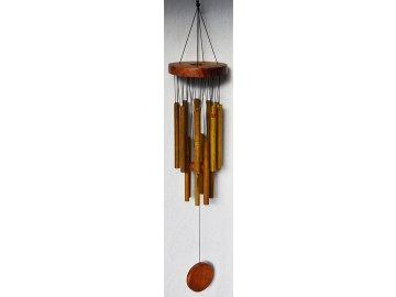 Zvonkohra | kov+dřevo | 77,5cm