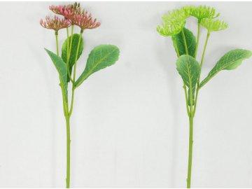 Kalina | umělá květina | 2dr. | 28cm (Barva žlutá)