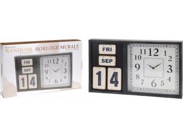 hodiny s kalendarem