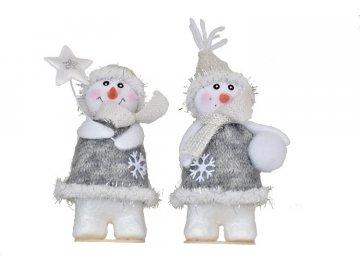 vanocni figurka snehulak