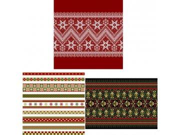 Dárková taška XL | vánoční vzory | varianty
