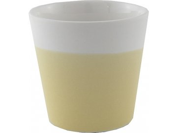 Svícen | Yankee Candle | Keramický |  pastelová žlutá | na votivní svíčku