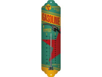 Venkovní teploměr kovový Gasoline