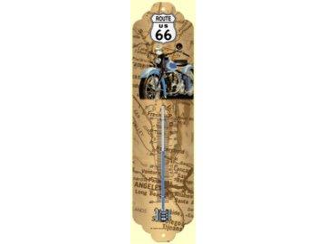 Venkovní teploměr s motivem US Route 66