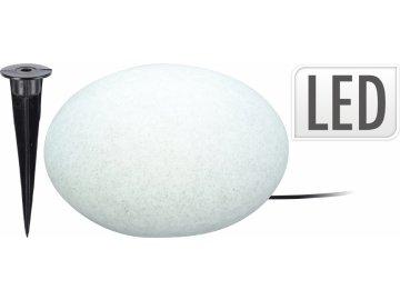 Svítící kámen 35x20 cm