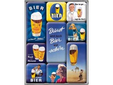 Magnetky na ledničku Bier