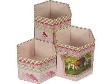 Stojánek na tužky | Horses Dreams | v krabičce