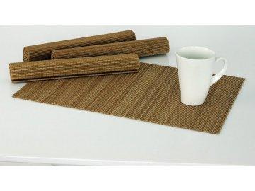 Bambusové prostírání | hnědé | 4ks