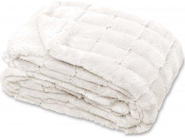 Prošívaná deka Xavi bílá