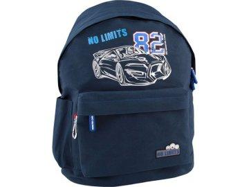 Batůžek | Monster Cars No Limits 82 | modrý s karabinou