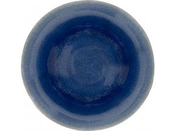 Keramický dezertní talíř Aventura   modrý