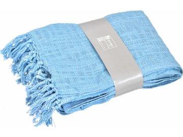 Pléd | barva modrá | 130 x 170cm