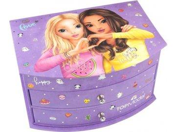 Šperkovnice Top Model Candy a Talita, fialová