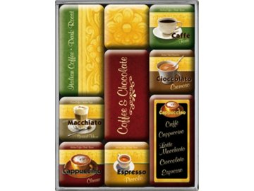 Magnetky na ledničku Coffee