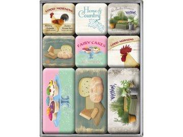 Magnetky na ledničku Home & Country