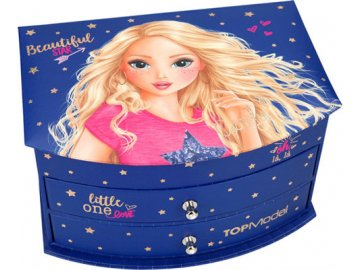Šperkovnice Top Model Candy, tmavě modrá