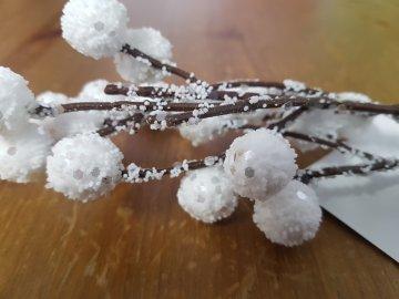 Dekorační vánoční umělá větvička