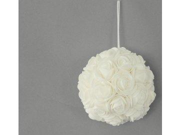 Dekorační růžičková koule na zavěšení