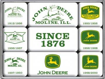 Magnetky na ledničku John Deere Since 1876