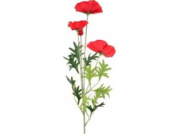 Umělá květina - vlčí mák