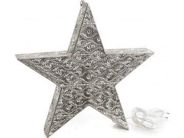 Osvětlení hvězda Arabica 40 cm