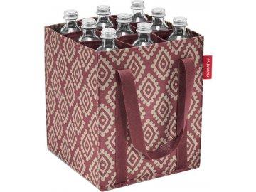 Taška na láhve Reisenthel Růžová s diamanty | bottlebag