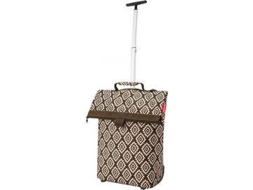 Nákupní taška Reisenthel Moka s diamanty   Trolley M