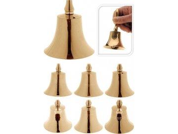 Vánoční zvonek zlatý