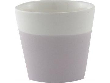 Svícen na votivní svíčku   Yankee Candle   pastelová fialová   keramika