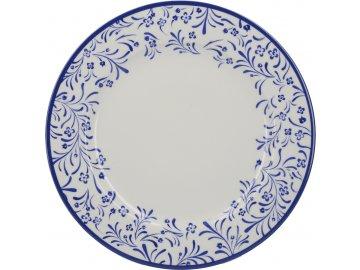 Porcelánový jídelní talíř Cole