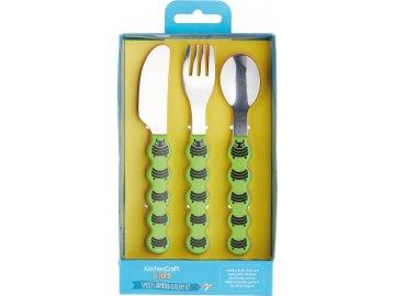 Dětské jídelní příbory Caterpillar
