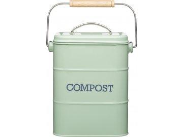 Plechový kompostér Living Nostalgia zelený