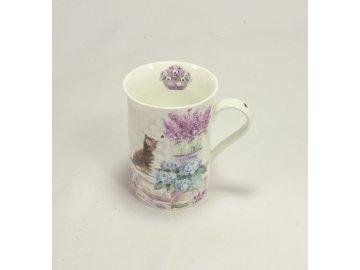 Hrnek | z keramiky | 500ml | flowers