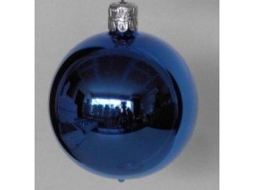 Skleněná koule | modrá | lesk