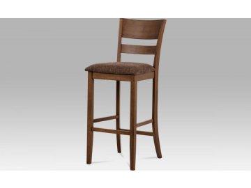Barová židle BEZ SEDÁKU, ořech