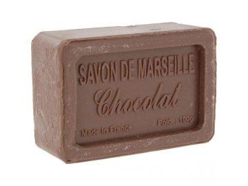 Mýdlo francouzské přírodní ČOKOLÁDA 100g