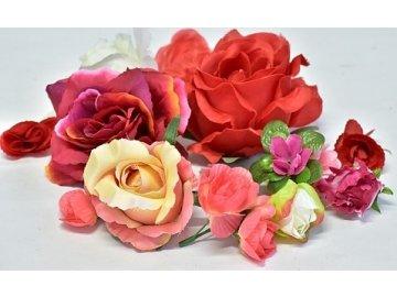 Vazbové květiny a listy