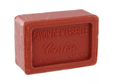 Mýdlo francouzské přírodní TŘEŠNĚ cerise 100g