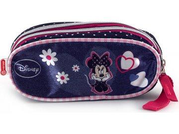 Disney Školní penál Minnie bez náplně, dvě kapsy
