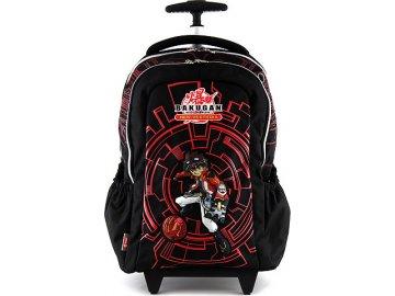 Školní batoh trolley Bakugan černý