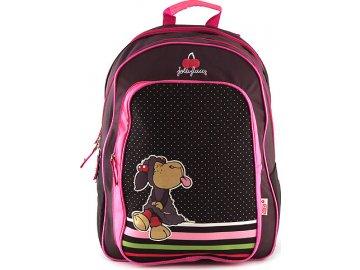 Školní batoh Nici ovečka vyplazující jazyk