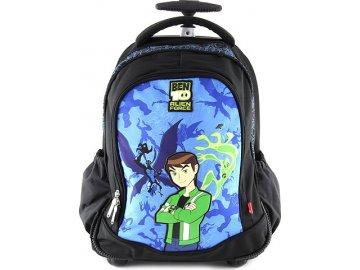 Školní batoh trolley Ben 10 modro/černý, s motivem Ben 10