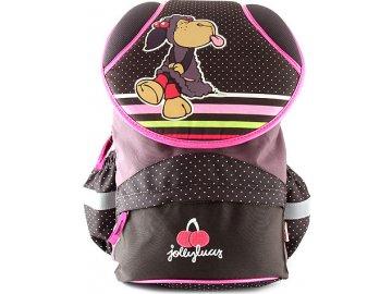 Školní batoh Nici hnědý, jedna ovečka